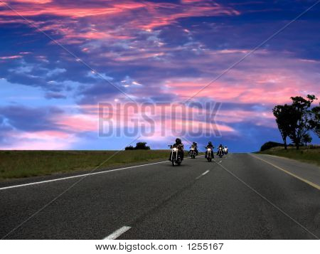 Bikers On The Road, Freedom