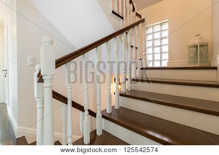 Classic Wooden Stairs