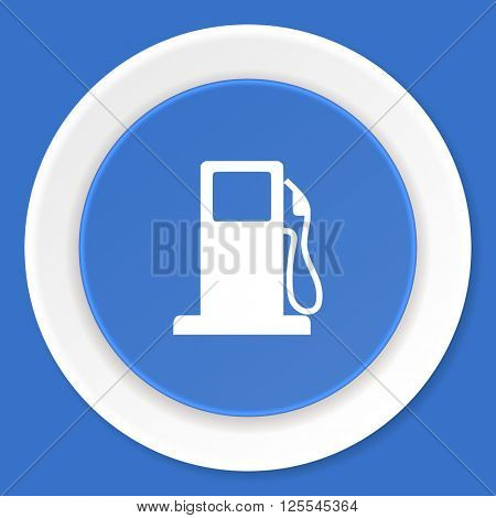 petrol blue flat design modern web icon