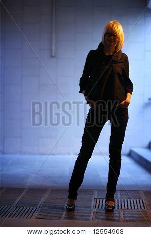 Female Model Silhouette