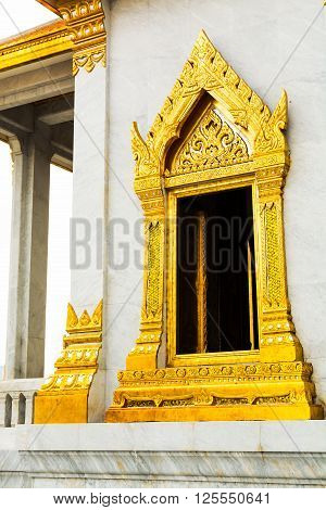 Wat Traimit Chapel In Wat Traimit. Bangkok, Thailand