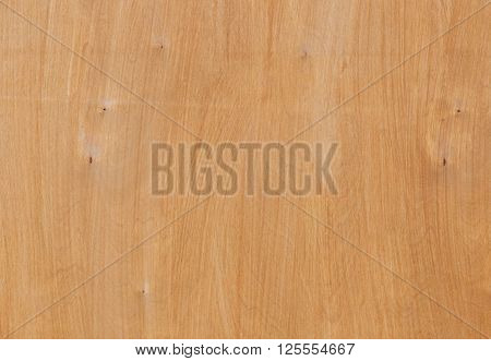 close up of light brown veneer board