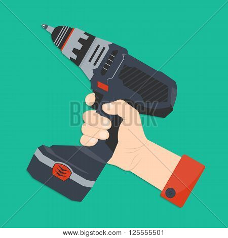 Hand With Screwdriver
