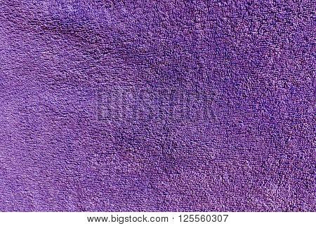 Magenta Bath Towel Texture.