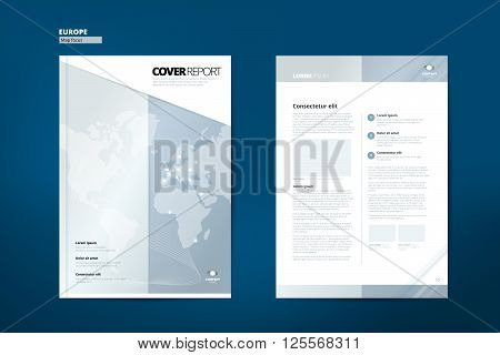 Catalog for Europe. Catalog Design. Cover Catalog design. Cover Catalog template. Catalog template. Catalog vector layout.