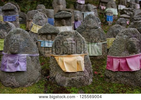 Buddha Statues At Kiyomizu-dera Temple, Kyoto