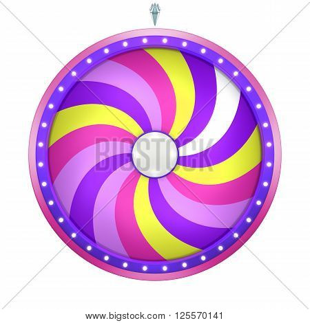 Lucky Spin Twirl 18 Area Purple