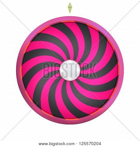 Lucky Spin Twirl Magenta And Black