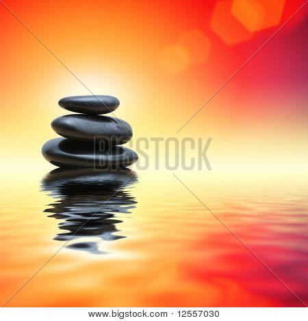 Hot zen stones
