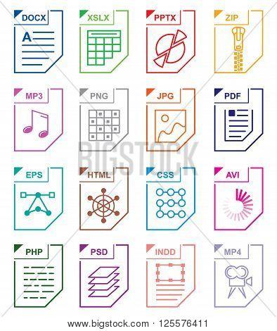 File format set icons. File format set. File format set art. File format set web. File format set new. File format set www. File format seta app. File format set big. File format icons. File formats