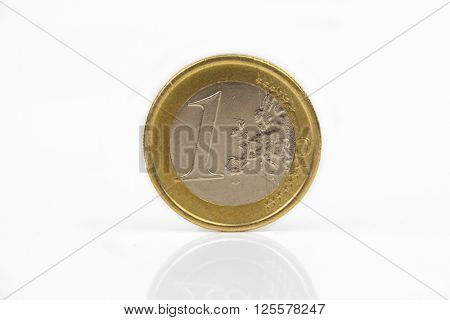 European Currency, Euro Coins Macro - Money