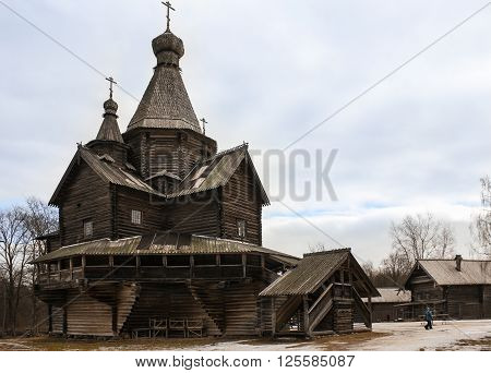 The wooden church of the Nativity of the Virgin (XVI century)