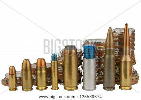 Ammunition and valid coins. Sales of weapons and ammunition. Illegal trade of ammunition. Advertising for the sale of ammunition. Valid Czech coins.