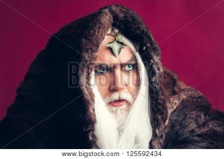 Zeus Man With White Hair