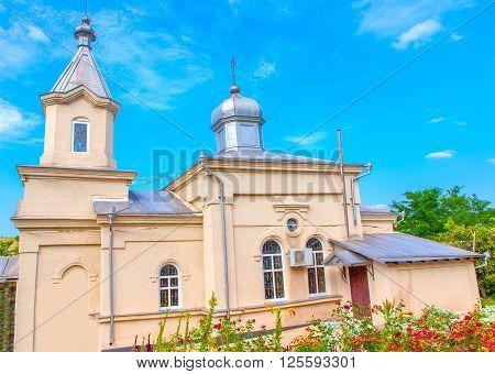 Monastery from village Zloti, from republic of Moldova