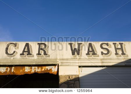 Abandoned Car Wash, Raymond, Washington