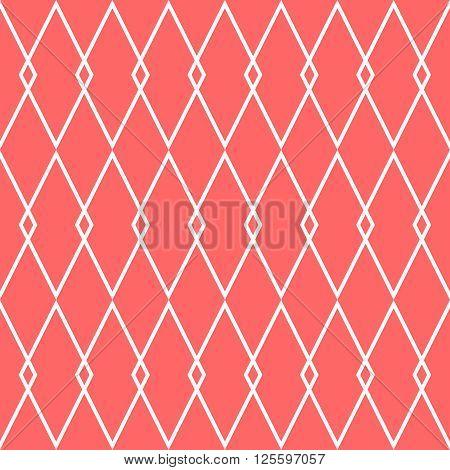 Pink tile vector pattern for decoration background wallpaper