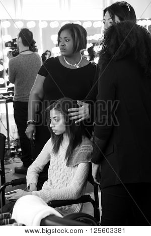 Custo Barcelona - Backstage - Fall 2016 Collection