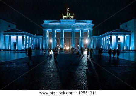 Brandenburg Gate,  Berlin, Germany.