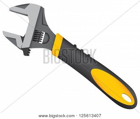 Adjustable wrench standard size wrench for industrial work.
