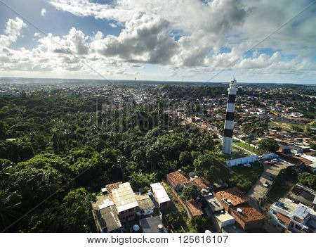 Olinda in Pernambuco State, Brazil