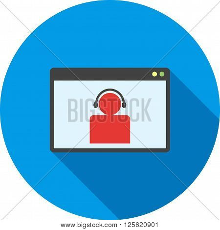 Video, chat, internet icon vector image.Can also be used for marketing. Suitable for mobile apps, web apps and print media.