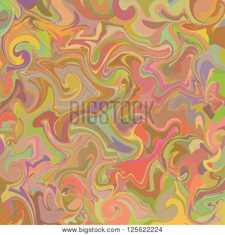 Vector pattern optical illusion geometric background. Spread paint.