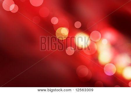 Beautiful Red Bokeh