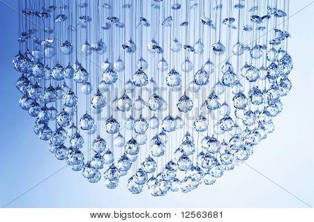 Lustre de cristais modernos