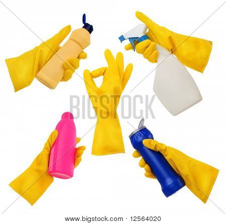 Rubber Gloves Set