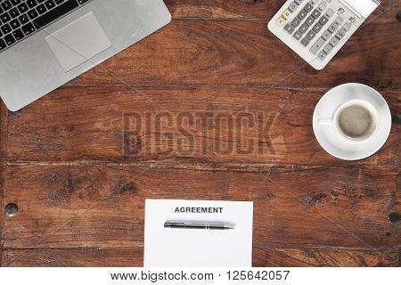 Advertising On The Desk