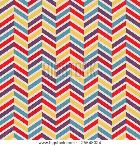 Seamless parquet pattern. Vector illustration. Coloful background