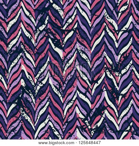 Seamless parquet pattern. Vector illustration. Pink, violet.
