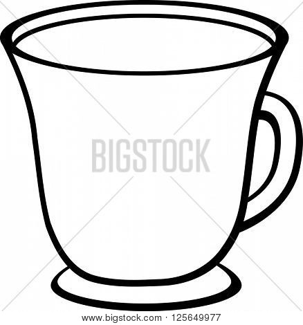cup with beverage