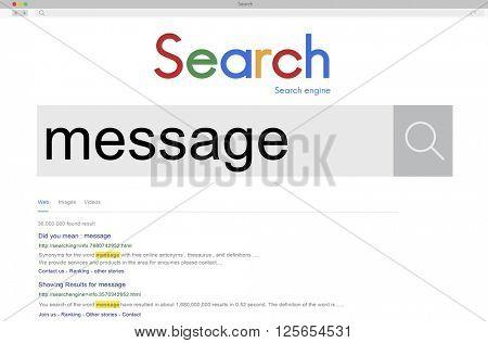 Message News Letter Communication Information Concept