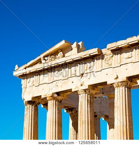 Athens  Acropolis And  Historical    In Greece The Old Architecture Place