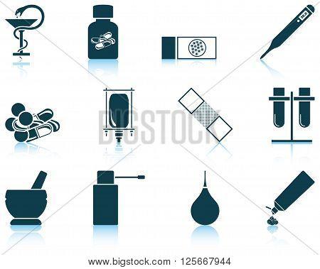 Set Of Farmacy Icons
