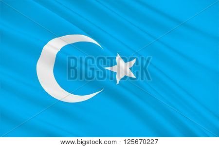 Flag of Xinjiang officially the Xinjiang Uyghur Autonomous Region is an autonomous region of China in the northwest of the country.