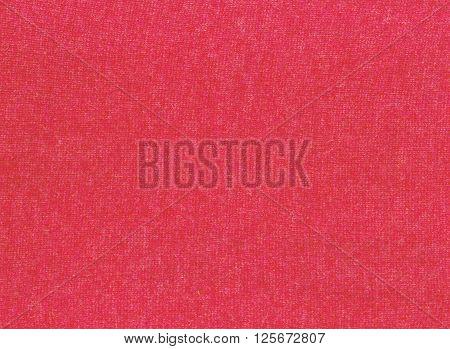 Orange Knitting Cloth Texture.