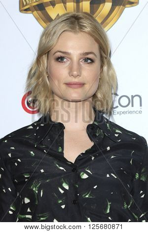 LAS VEGAS - APR 12: Alison Sudol at the Warner Bros. Pictures Presentation during CinemaCon at Caesars Palace on April 12, 2016 in Las Vegas, Nevada