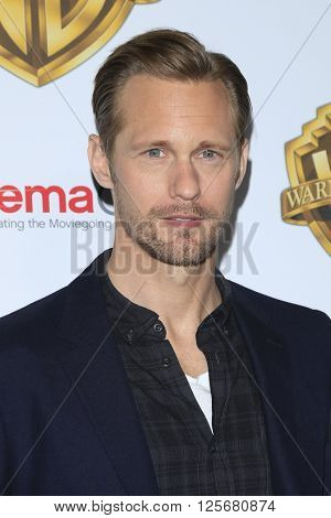 LAS VEGAS - APR 12: Alexander Skarsga?rd at the Warner Bros. Pictures Presentation during CinemaCon at Caesars Palace on April 12, 2016 in Las Vegas, Nevada