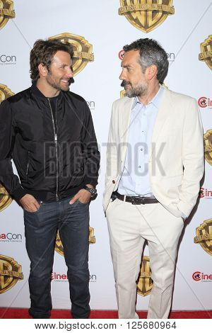 LAS VEGAS - APR 12: Bradley Cooper, Todd Phillips at the Warner Bros. Pictures Presentation during CinemaCon at Caesars Palace on April 12, 2016 in Las Vegas, Nevada