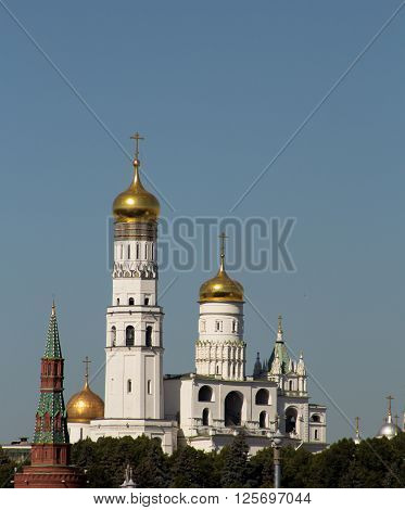 Ivan the Great Bell Tower. Moscow landmark. Russia
