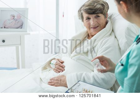 Patient And Her Caregiver