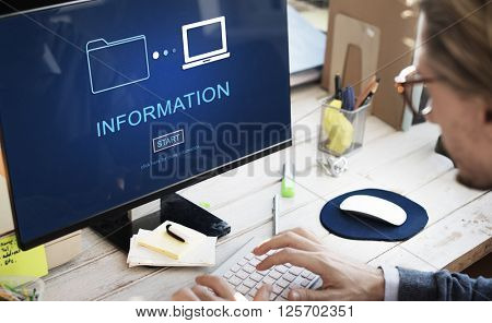 Information Details Facts Communication Sharing Concept