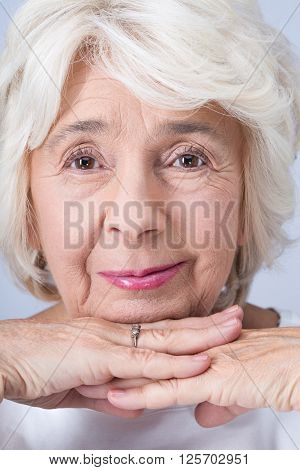Proud And Confident Older Woman