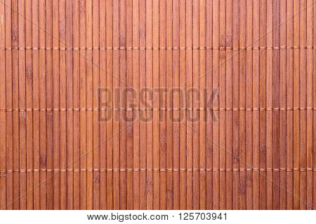 Texture of woven bamboo. Bamboo napkin, texture of natural bamboo