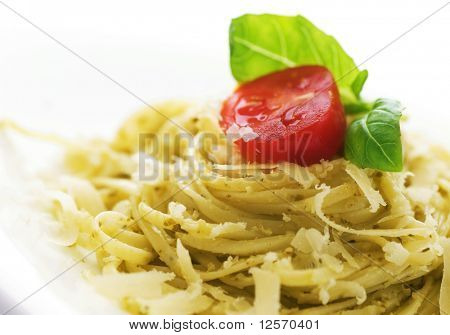Italian Pasta closeup