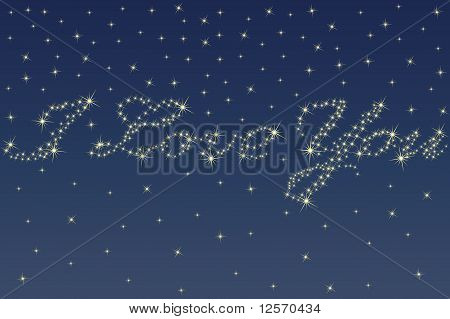 Night Sky And Stars