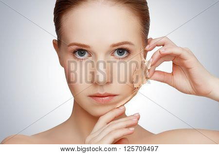 beauty concept rejuvenation renewal skin care and skin problems